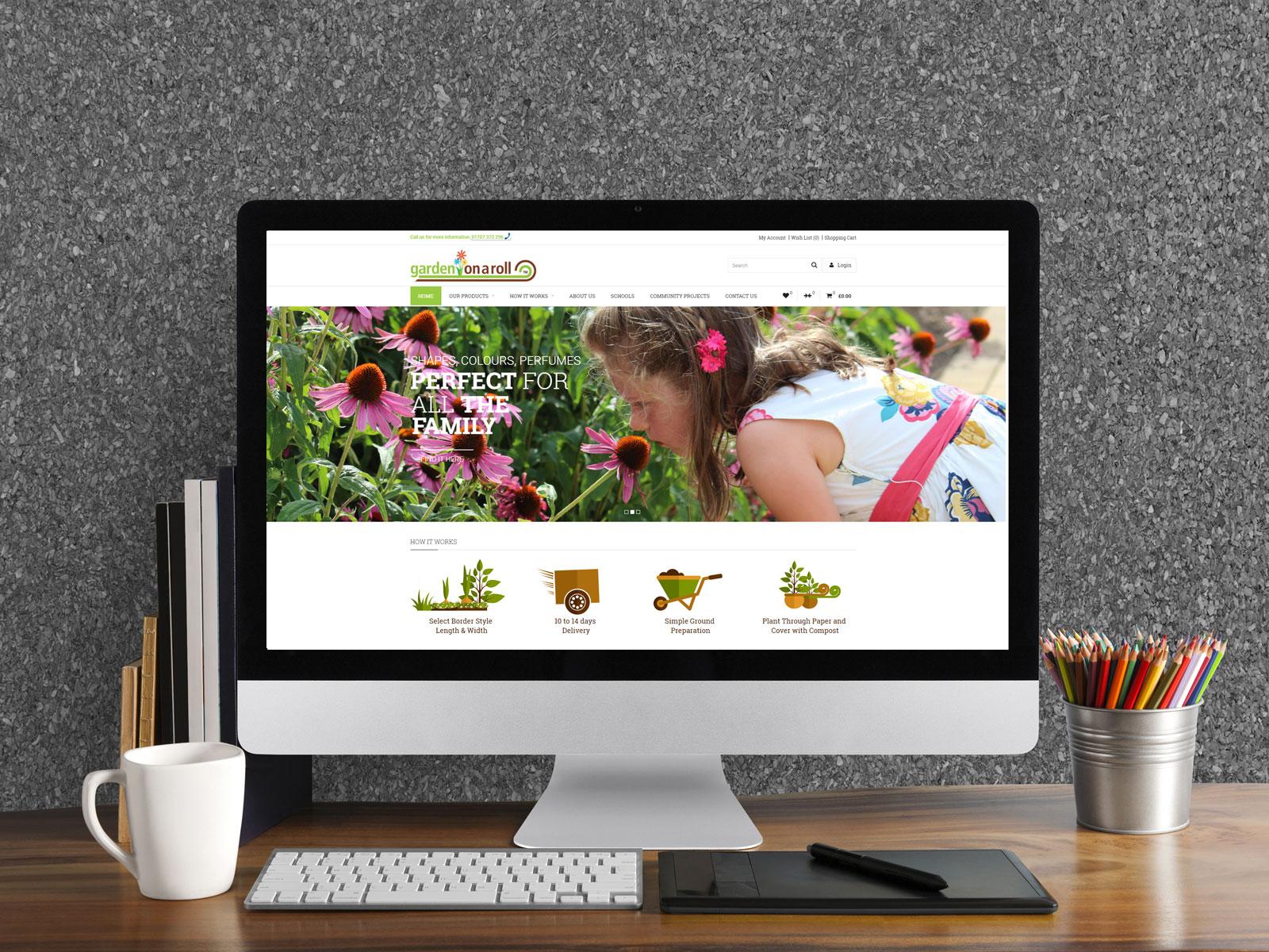 Gardenonaroll Responsive Design